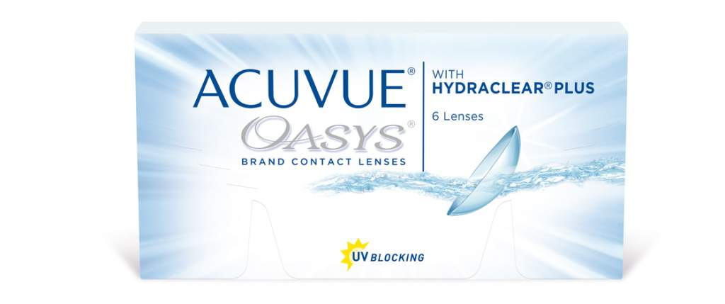 Johnson and Johnson Acuvue Oasis